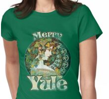 Merry Yule Womens Fitted T-Shirt