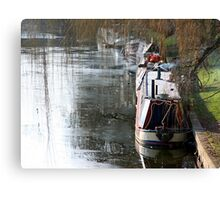 Winter on the Water Canvas Print