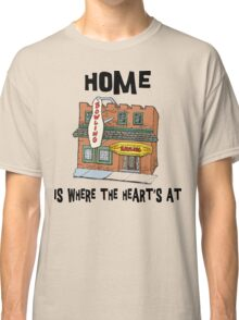 """Bowling """"Home Is Where The Heart's At"""" Classic T-Shirt"""