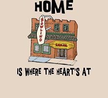 "Bowling ""Home Is Where The Heart's At"" Unisex T-Shirt"