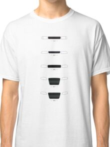 German Sedans (B8, B7, B6, B5, 4C) simple front end design Classic T-Shirt