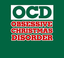 OCD Obsessive Christmas Disorder Womens Fitted T-Shirt