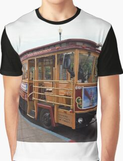 San Francisco Cable Car Graphic T-Shirt