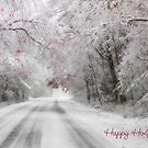 Happy Holidays Greeting Card by Lori Deiter