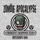 Zombie Emergency Response Team 666 by David Ayala