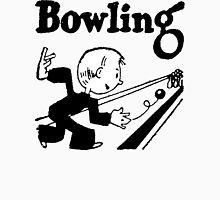 Bowling Vintage Retro Unisex T-Shirt