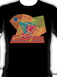 Abstract Bowling T-Shirt
