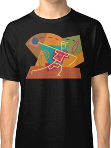 Abstract Bowling Classic T-Shirt