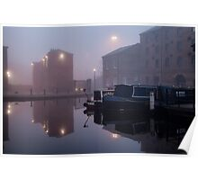 Mist on the Canal Poster