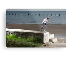 Mikey Taylor - Sw 180 Nosegrind - Photo: Sam McGuire Metal Print