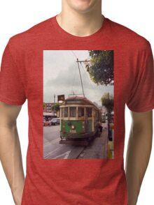 San Francisco Cable Car Tri-blend T-Shirt