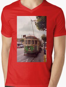 San Francisco Cable Car Mens V-Neck T-Shirt
