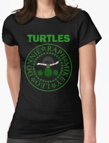 The Turtles Womens Fitted T-Shirt