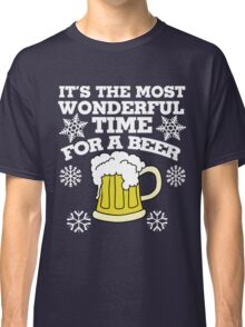 It's the most wonderful time for a beer christmas party Classic T-Shirt