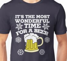It's the most wonderful time for a beer christmas party Unisex T-Shirt