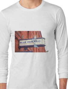 San Francisco Blue Memaid Long Sleeve T-Shirt