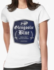 Glengoolie Blue Womens Fitted T-Shirt