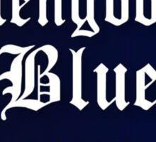 Glengoolie Blue Sticker