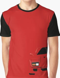 Italian supercar simplistic front end design Graphic T-Shirt