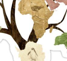 Earth Tree (Birds) Sticker