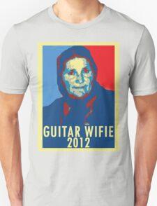 Guitar Wifie for President 2012 T-Shirt
