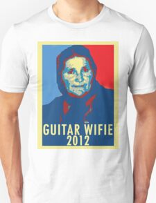 Guitar Wifie for President 2012 T-Shirt