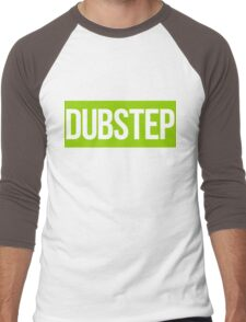 Dubstep (Green) Men's Baseball ¾ T-Shirt