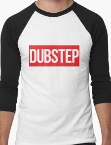 Dubstep (Red) Men's Baseball ¾ T-Shirt