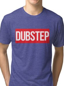 Dubstep (Red) Tri-blend T-Shirt