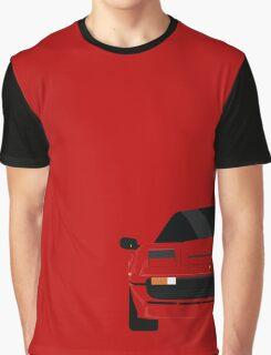 Italian supercar simplistic front end design 2 Graphic T-Shirt