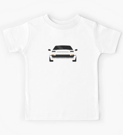 Italian supercar simplistic front end design 2 Kids Tee