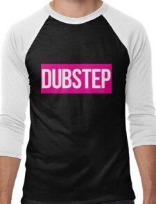 Dubstep (Pink) Men's Baseball ¾ T-Shirt