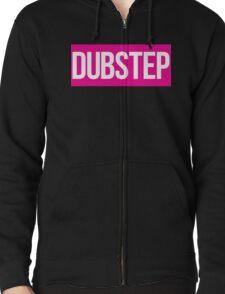 Dubstep (Pink) Zipped Hoodie