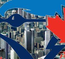 Toronto Blue Jays Skyline Logo Sticker