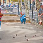 Bocce Ball by Phillip S. Vullo Jr.
