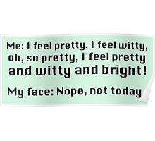 I feel pretty... Poster