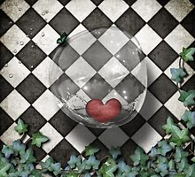 chequered whimsy 3 by Melanie Moor