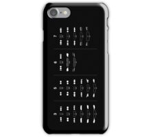 3, 5, 6, and 7 Generations Headlights and kidney grills iPhone Case/Skin