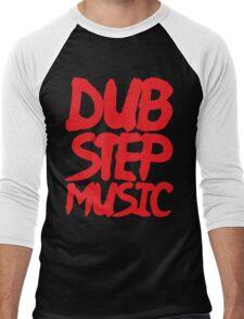 Dubstep Music Men's Baseball ¾ T-Shirt