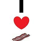 Bacon love by emperorBear