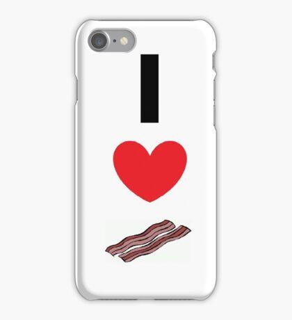 Bacon love iPhone Case/Skin
