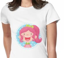 Pink Alice Womens Fitted T-Shirt