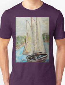 On a Cloudy Day - Impressionist View T-Shirt
