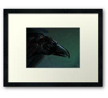 Dark Rider Framed Print