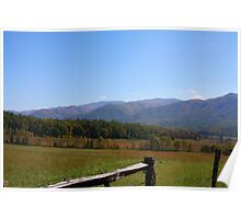 Fall in the Great Smoky Mountains Poster