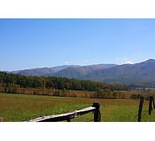 Fall in the Great Smoky Mountains Photographic Print