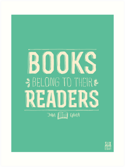 Books Belong To Their Readers by six-fiftyeight