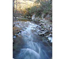 Smokie Mountain Creek Photographic Print