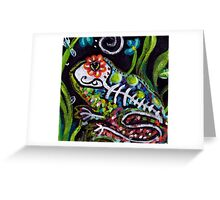 Day of the Dead Series - La Rana Greeting Card