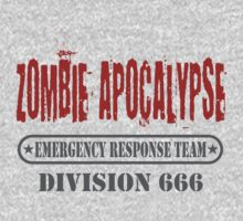 Zombie Apocalypse Emergency Response Division by David Ayala